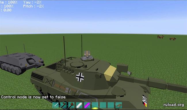 моды на танки без архива на майнкрафт 1.7.10 #10
