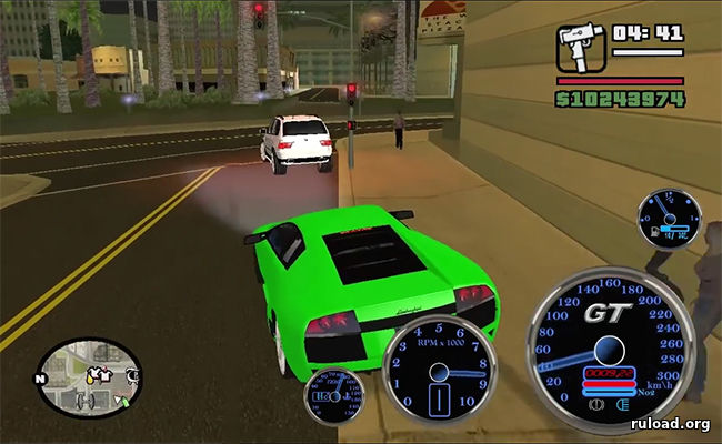 GTA San Andreas Super Cars final 3.5