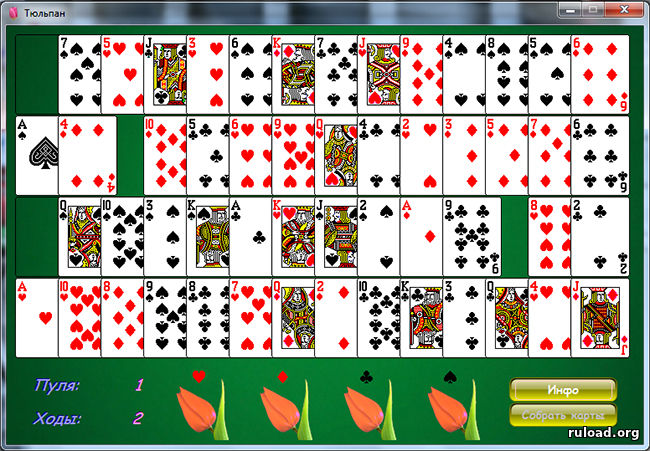 Карты паук 2 масти играть бесплатно коврик