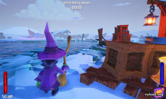 Играть по сети в Witch It