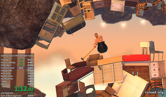 Игра Getting Over it на PC