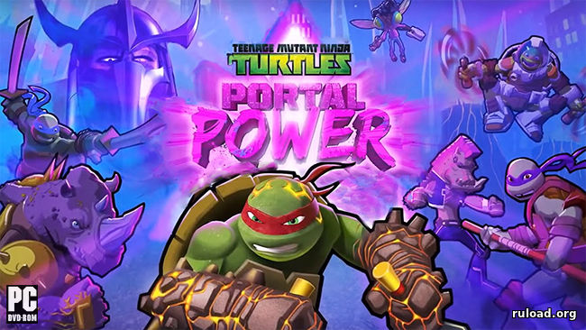 Teenage Mutant Ninja Turtles Portal Power скачать торрент
