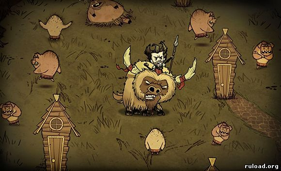 Моды для Don't Starve Together Reign of Giants
