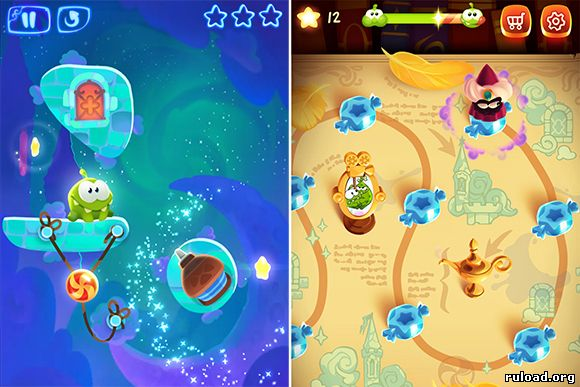 Игра Cut the Rope Magic на андроид