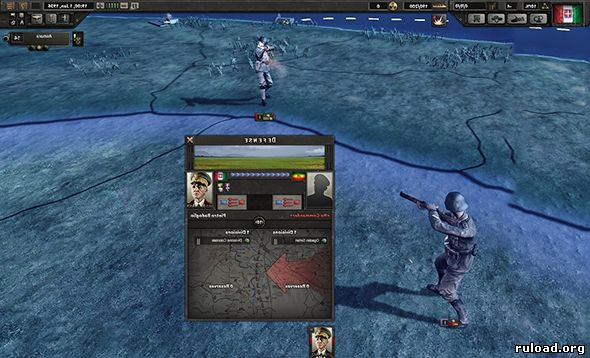 Hearts of Iron 4 на русском языке