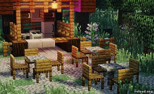 MrCrayfish's Furniture Mod для Minecraft