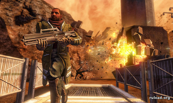 Репак игры Red Faction Guerrilla для PC
