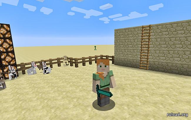 Minecraft: Готовый сервер с спавном, моб ареной 1.7.2