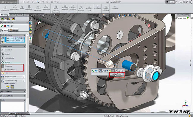 SolidWorks 2016 для Windows 64-bit