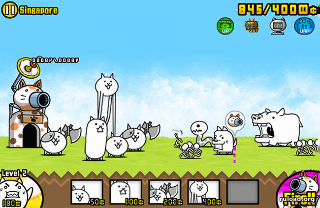 Игра Battle Cats
