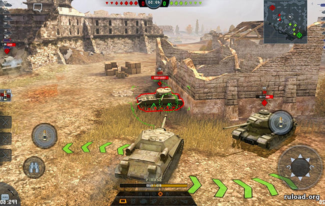 World of Tanks Blitz на Windows