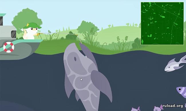 Котик ловит рыбку скачать торрент