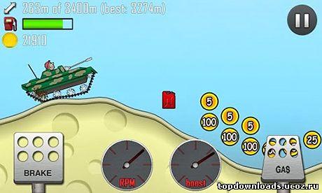 Скачать игру на андроид хил климб рейсинг