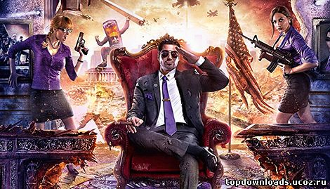 Главный герой Saints Row 4 для PC