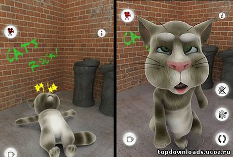 Talking Tom Cat на телефон