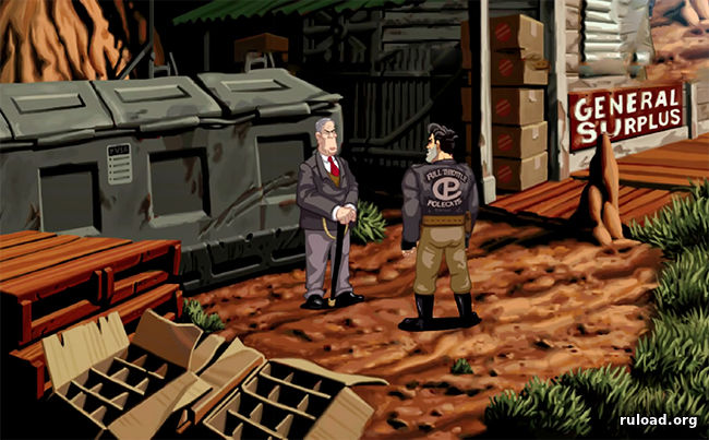 Full Throttle Remastered на русском языке