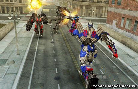 Мобильная игра Transformers: Age Of Extinction