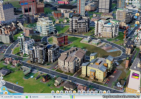 Дополнение SimCity Cities of Tomorrow на компьютер