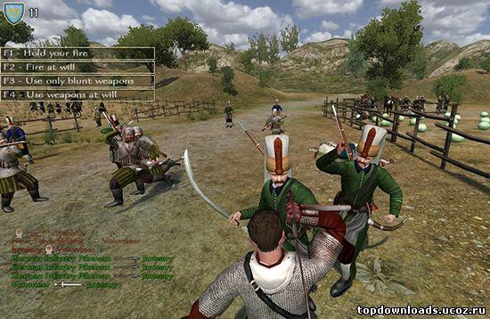 Mount blade warband скачать игру с модами