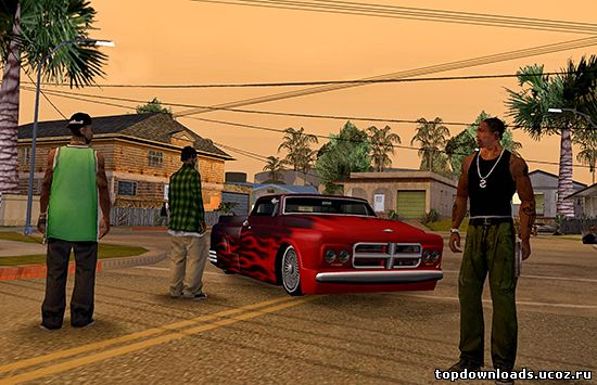 Торрент игры Grand Theft Auto San Andreas