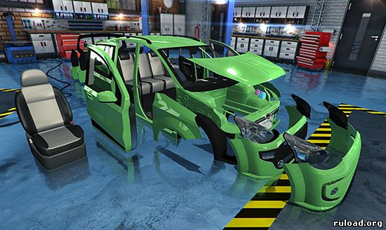 Русская версия Car Mechanic Simulator 2015