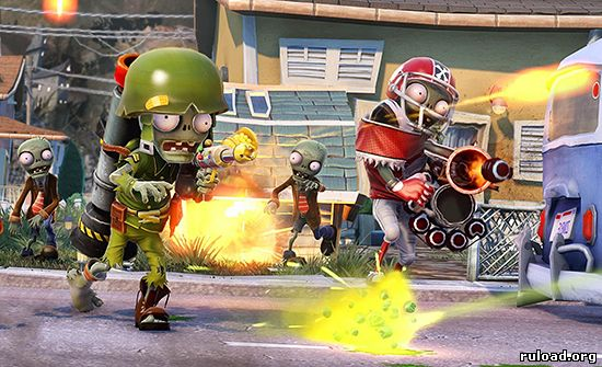 Скачать Plants vs. Zombies Garden Warfare на ПК