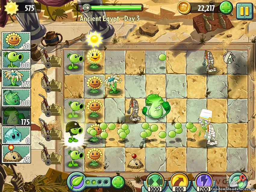 Plants VS Zombies 2 (android)