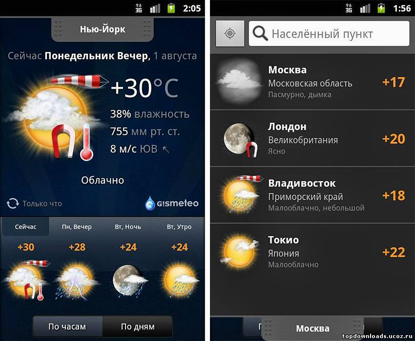 Gismeteo (android)