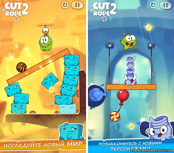 Cut the Rope 2 (android)