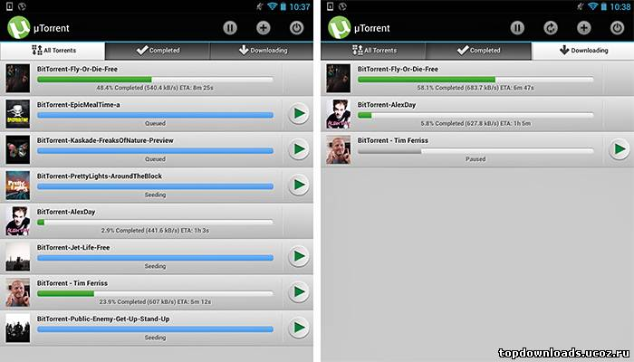 uTorrent (android)