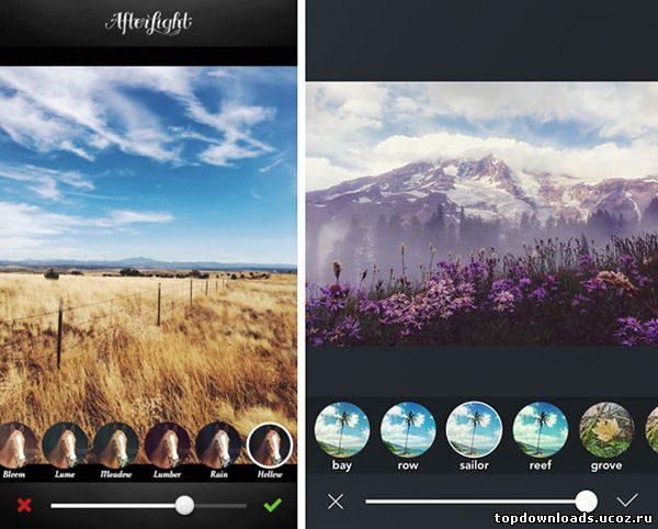 Afterlight на android / Афтерлайт