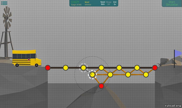 Мост конструктор / Bridge Constructor на андроид …