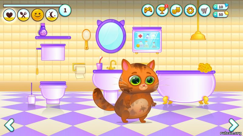 Котик Bubbu (android)