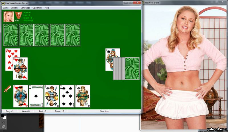 раздевание игры на играть карты дурак