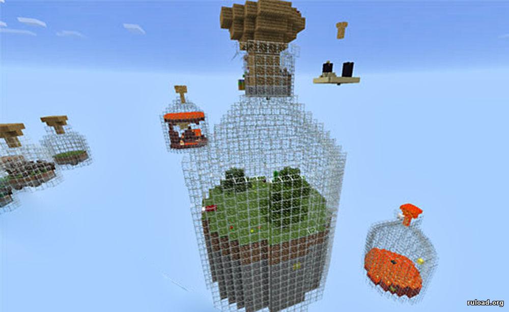 world in jar на майнкрафт pe #2