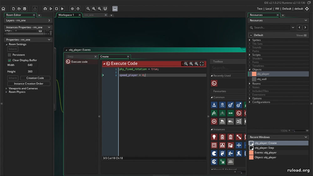 GameMaker Studio (2 1.3.273)
