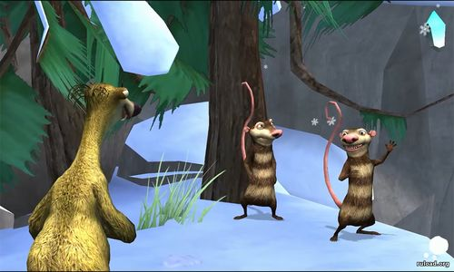 Игра Ice Age 3 Dawn of the Dinosaurs на ПК
