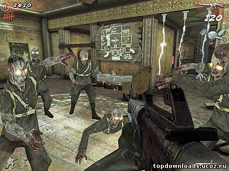 Скриншот Call of Duty: Black Ops Zombies для android