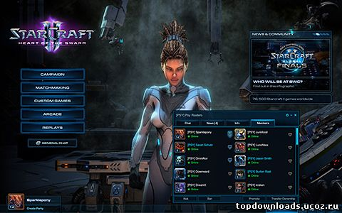 Интерфейс StarCraft 2: Heart of the Swarm