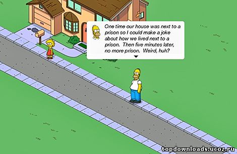 Скриншот из Simpsons: Tapped Out