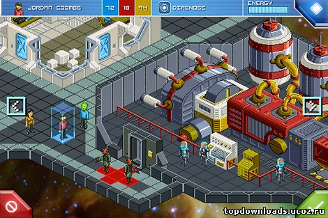 Гемплей Star Command android