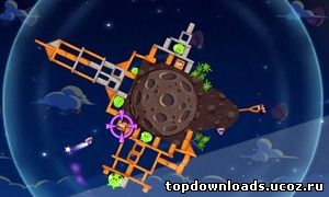 Скриншоты Angry Birds Space для Android