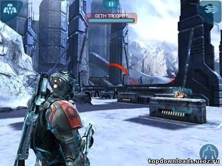 Скриншот Mass Effect: Infiltrator для android